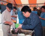 平成19年(2007年)7月、中越沖地震(新潟県柏崎市)でのボランティア活動